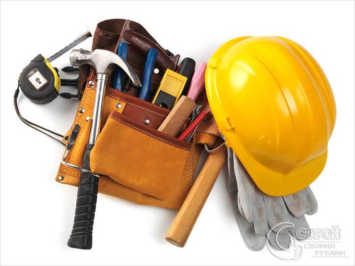 Понадобится строительный инструмент