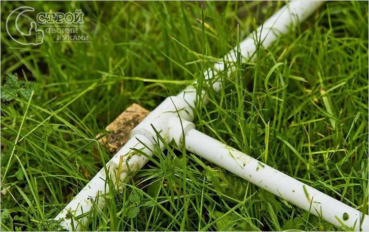 Разводка труб летнего водопровода