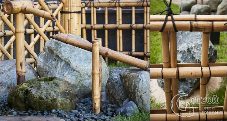 Бамбуковый водопад