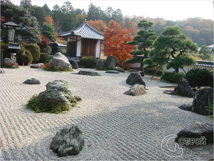 Как ухаживать за каменным садом