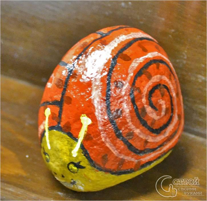 Роспись на камнях
