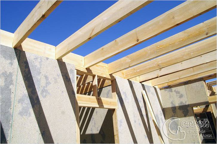 Использование деревянных балок перекрытия