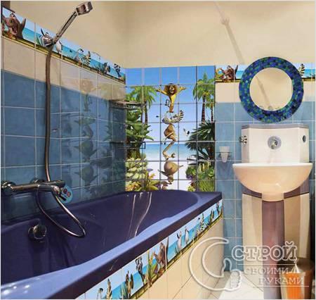Мадагаскар в ванной