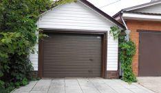 Длина первого гаража прямоугольной формы