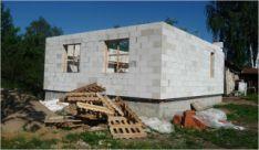 Видео о строительстве дома из пеноблоков