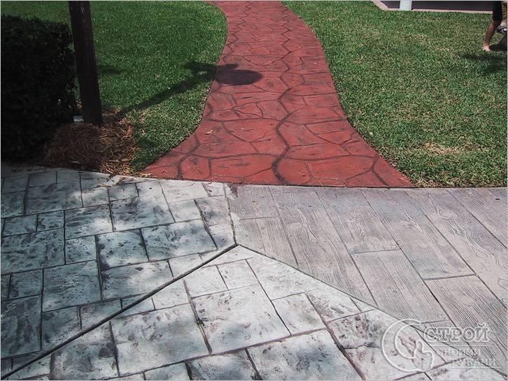 Декоративный бетон своими руками 754