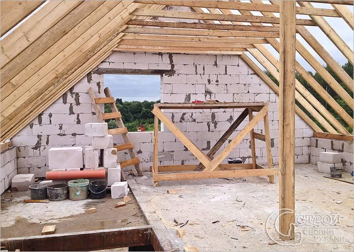 Строем дом из газобетона