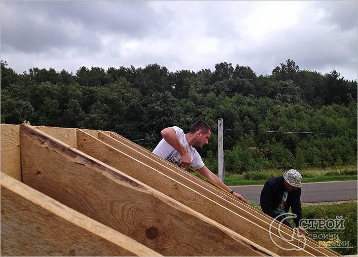 Построить дом своими руками с газобетона видео 2