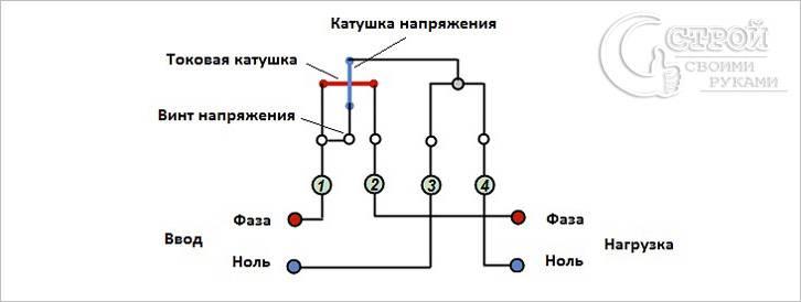 электросчетчика схема