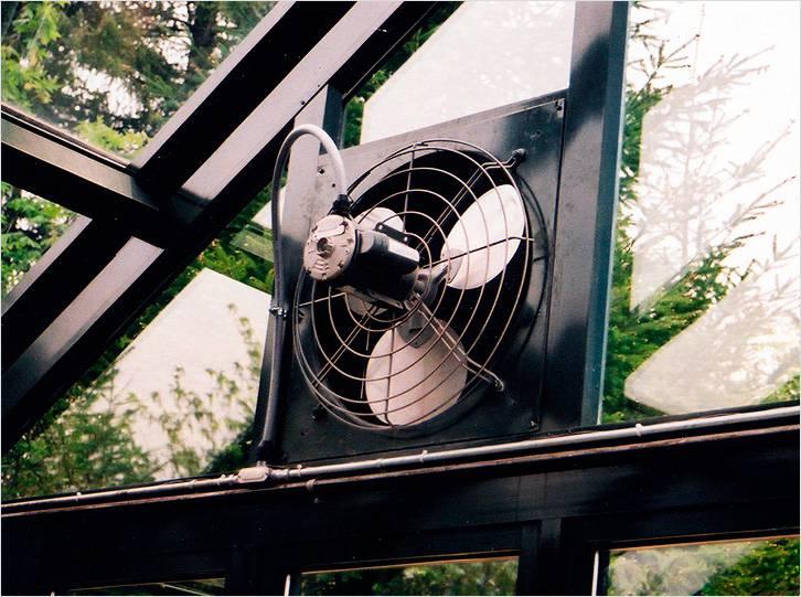 Вентиляция в теплице обеспечит хороший микроклимат внутри