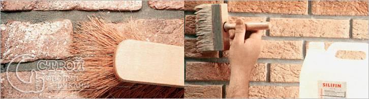 Как клеить декоративный камень на стену - наклеивание декоративного камня