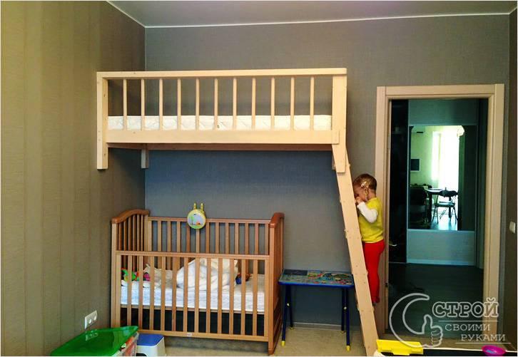 Детская кровать с чердаком своими руками