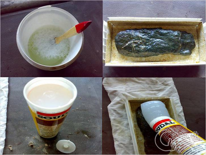 Как сделать формы из силиконового герметика