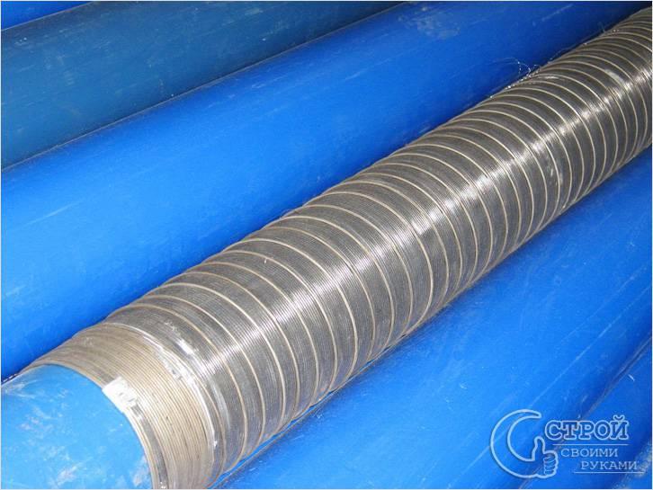 Самодельный фильтр для скважины