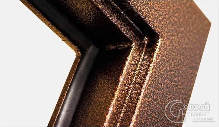 уплотнение для железной входной двери