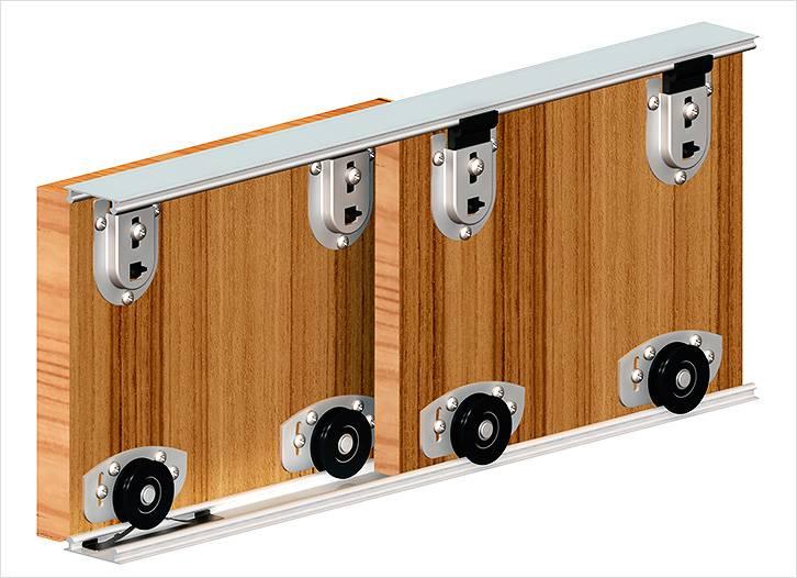 Раздвижные двери должны иметь надежную систему