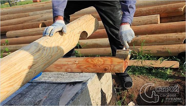 Как сделать сруб из бревен своими руками 419