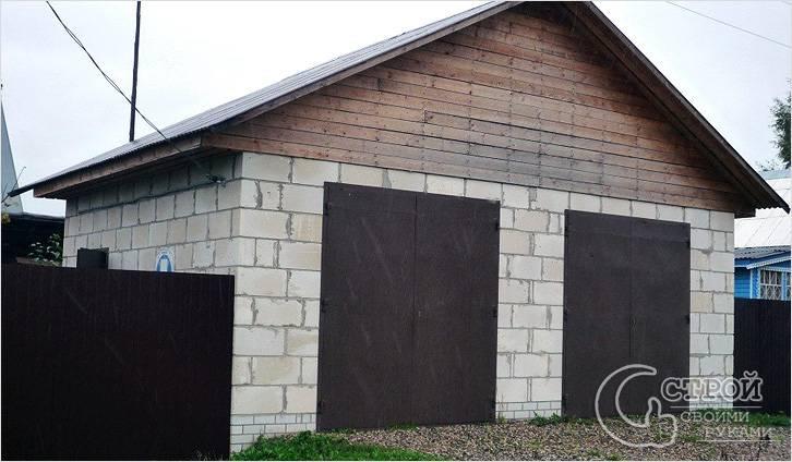 Купить сборный гараж из металлопрофиля