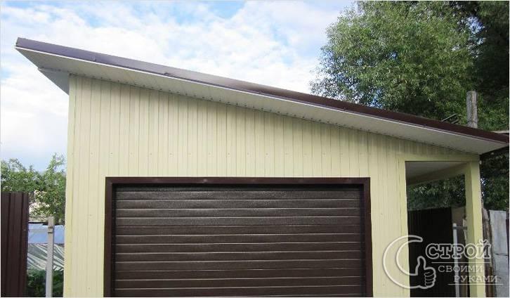 Гараж из сибита своими руками - постройка гаража из сибита