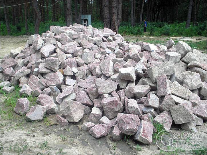 Строительство из бутового камня