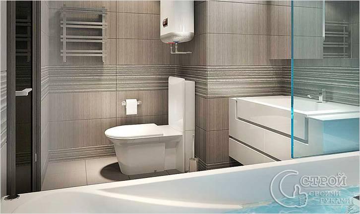 Дизайн ванной после перепланировки