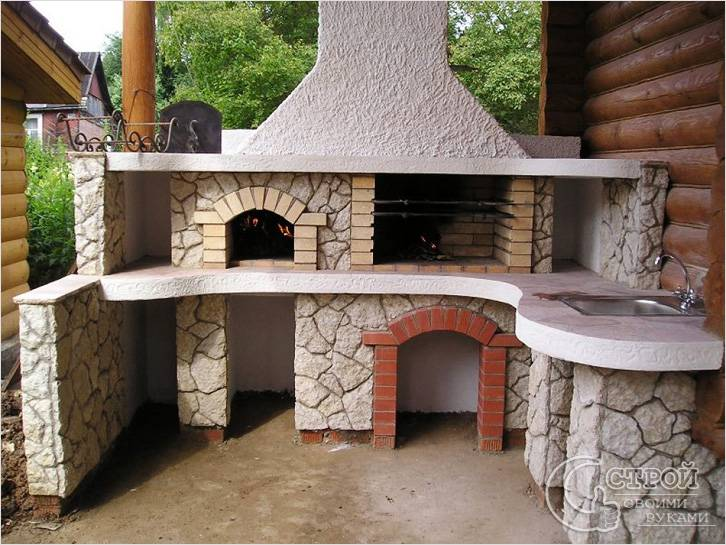 Строим мангалы и барбекю