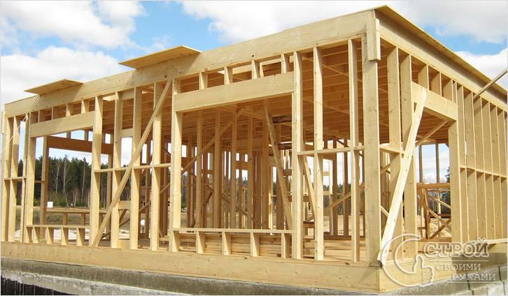 Как Построить Деревянный Каркасный Дом Своими Руками Пошаговая Инструкция - фото 3