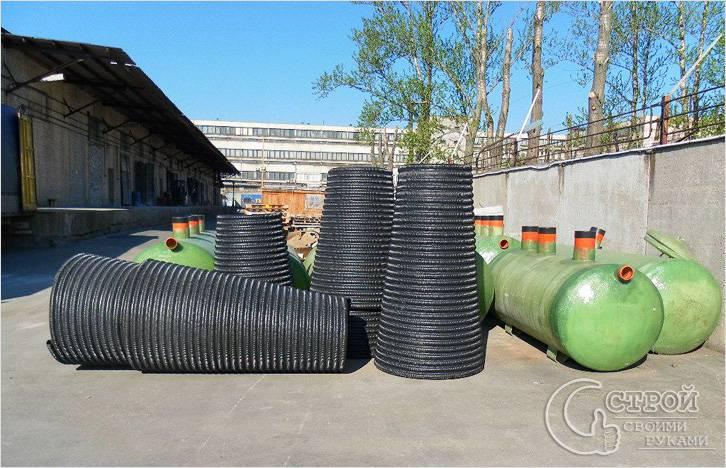 Пластиковые фильтрационные колодцы