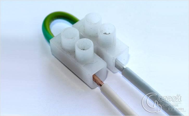 Соединение алюминиевого и медного проводов