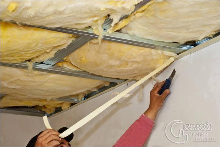 как утеплить потолок деревянном доме своими руками фото
