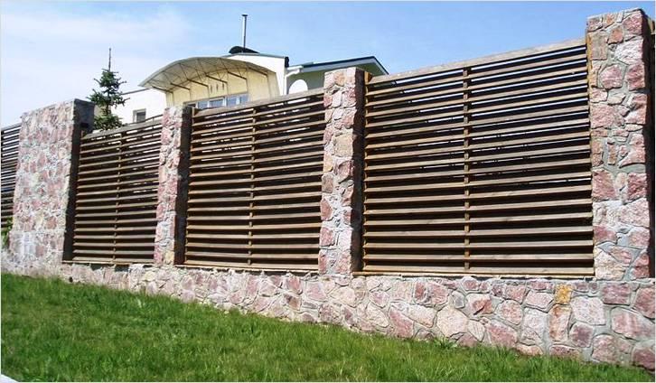Как сделать деревянный забор жалюзи своими руками - строительство забора жалюзи