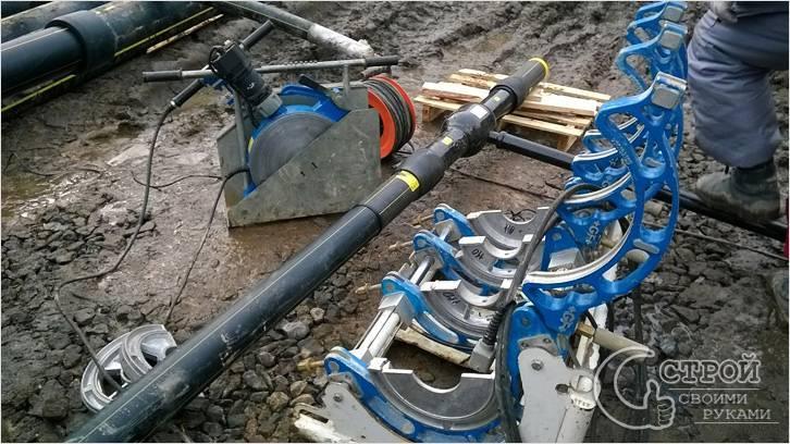 Оборудование для пайки полиэтиленовых труб