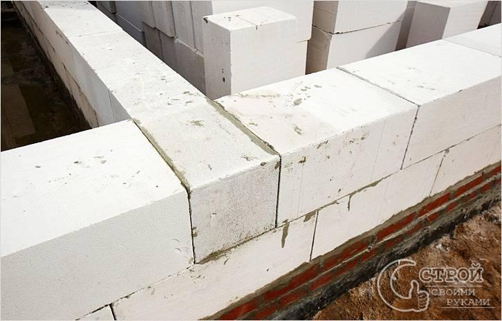 Как сделать пристройку из газосиликатных блоков