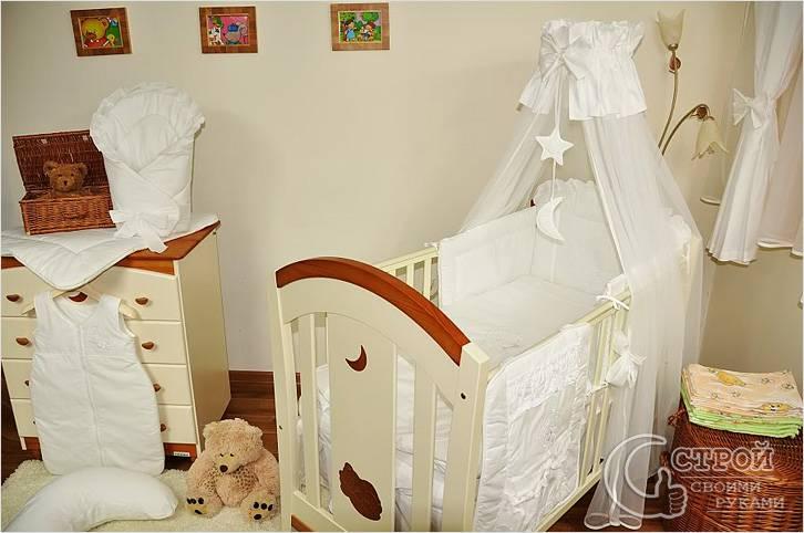 Шьем балдахин для детской кроватки своими руками