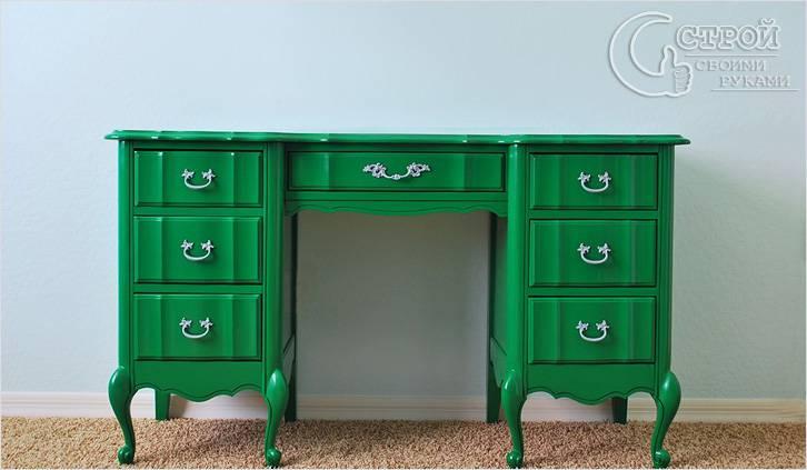реставрация старой мебели своими руками как отреставрировать мебель