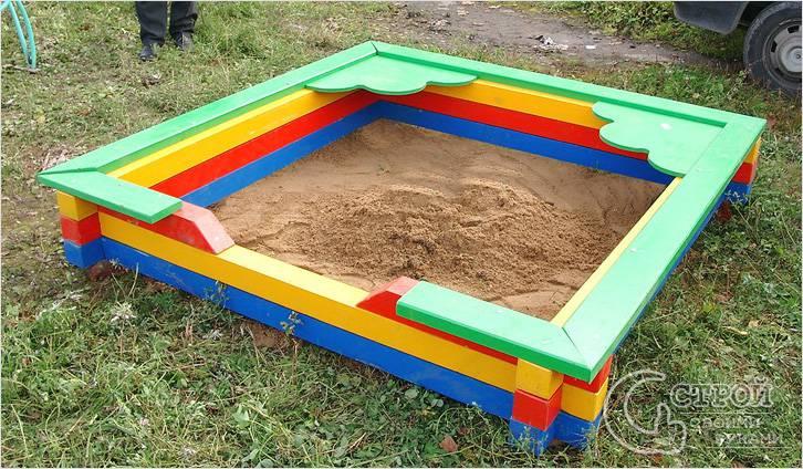 Песочница как сделать детям 74
