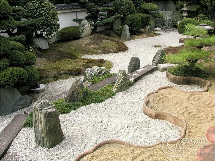 Сад в лучших японских традициях