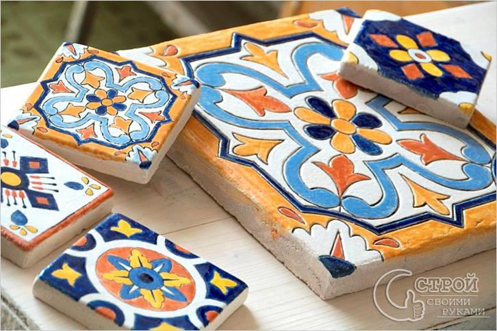Глиняная керамическая плитка