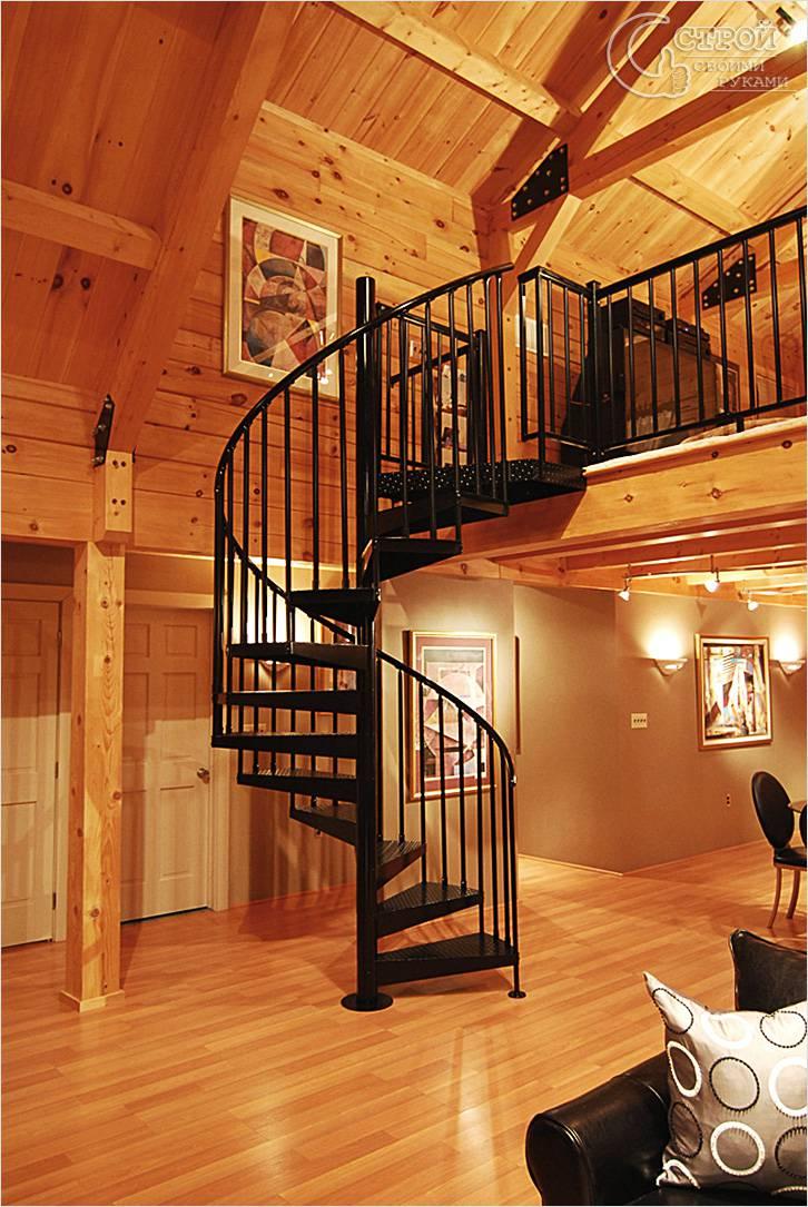 Винтовая лестница своими руками из металла чертежи фото 538
