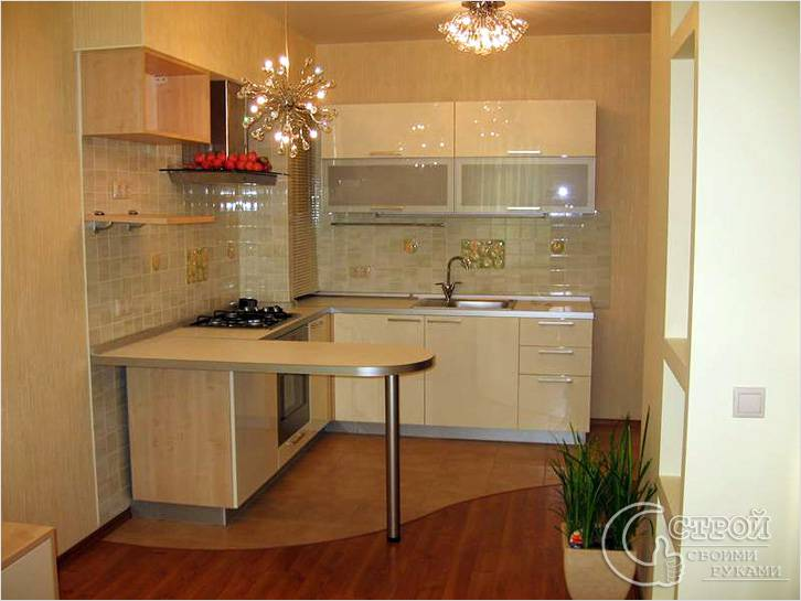 Дизайн кухня комната