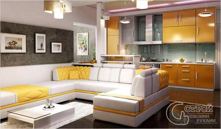 Перепланировка 1-комнатной в 2-х комнатную квартиру
