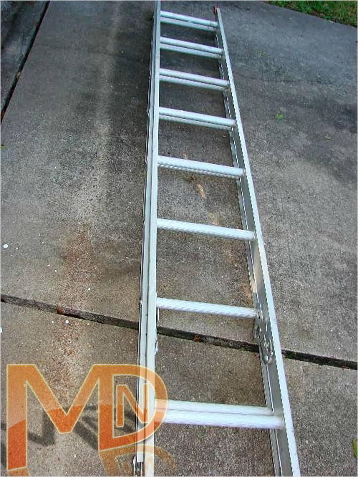 Монтажная лестница – Оцинкованная составная монтажная лестница