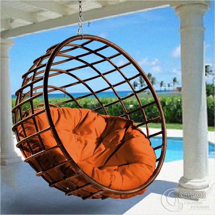 Пример дизайна подвесного кресла