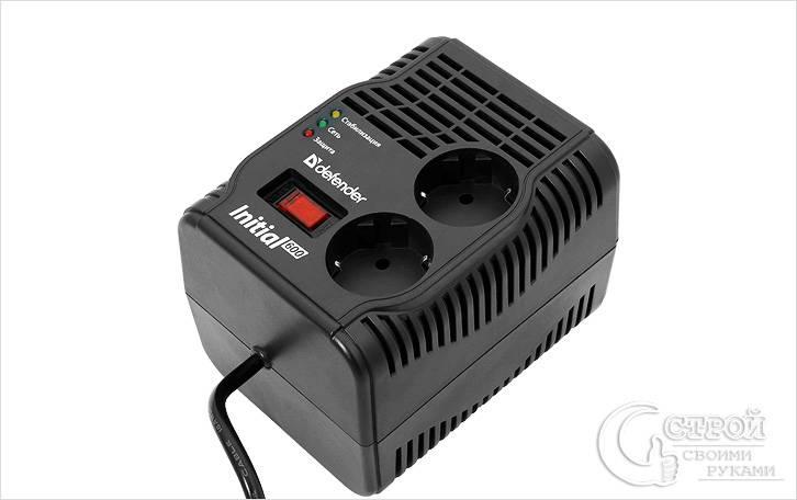 Стабилизатор напряжения с сетевым фильтром