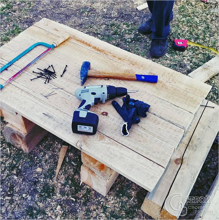 Что подготовить из инструментов