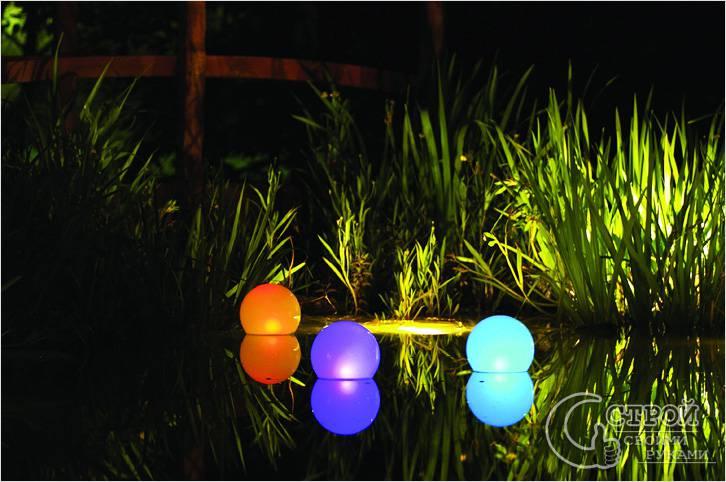 Декоративные плавающие светильники