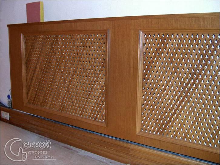 Экран для радиатора отопления