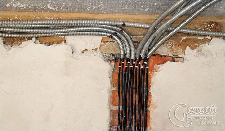 Электрика в квартире своими руками видео фото 290