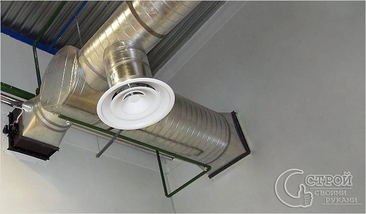 Естественная вентиляция дома