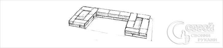Фундамент кирпичного мангала